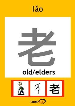 Chinesee Flashcard_老_Elder