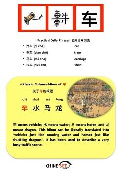 Chinesee Flashcard_车_Car/Vehicle