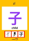 Chinesee Flashcard_子_Child