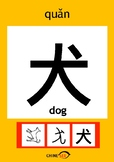 Chinesee Flashcard_犬_Dog