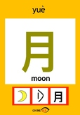 Chinesee Flashcard_月_Moon