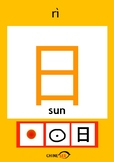 Chinesee Flashcard_日_Sun