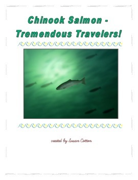 Chinook Salmon - Tremendous Travelers!