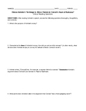 """Chinua Achebe's """"An Image in Africa"""" Critical Reading Questions"""