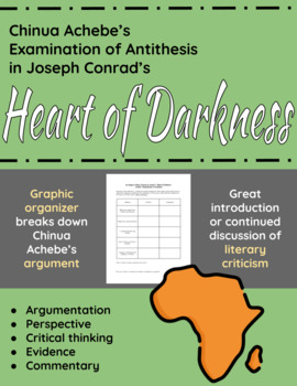Chinua Achebe's Examination of Antithesis in Heart of Darkness