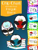 Chip Chart (Behavior Chart) Penguin Themed - EDITABLE!!