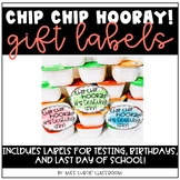 Chip Chip Hooray Labels!
