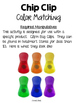 Chip Clip Color Matching {NO DITTOS}