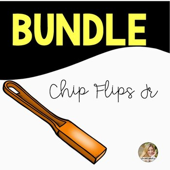 Chip Flips Jr Bundle for Speech and Language Therapy Preschool through 3rd Grade