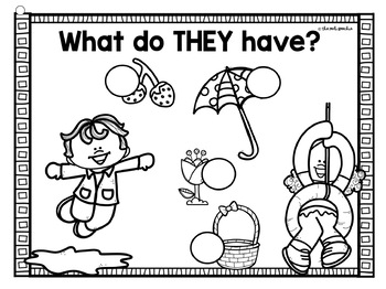 Chip Flips Jr   Subjective Pronouns   He, She, They   Preschool Speech Therapy