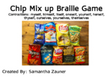 Chip Mix Up Braille File Folder Game
