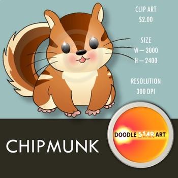 Chipmunk Clip Art