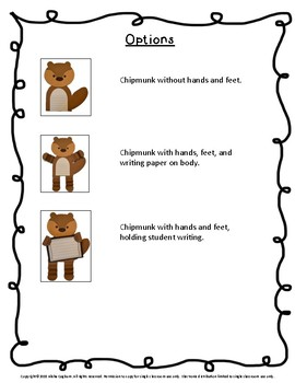 Chipmunk Craftivity and Printables