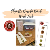 Chipotle Burrito Bowl Work Task