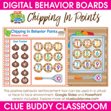 Chipping In Points Digital Behavior Board | Distance Learning