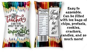 Chips/Treat Bag for Educators 1