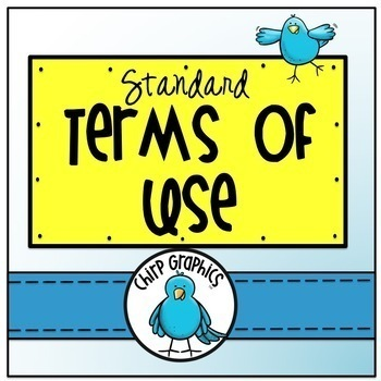 Chirp Graphics Terms of Use