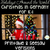 Chirstmas in Germany for Kindergarten & First Grade | Holidays Around the World