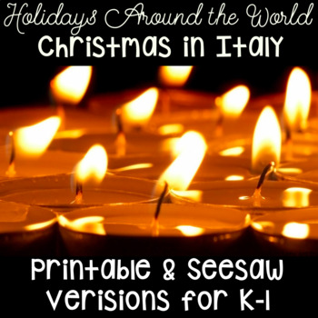 Chirstmas in Italy- Holidays Around the World- Kindergarte