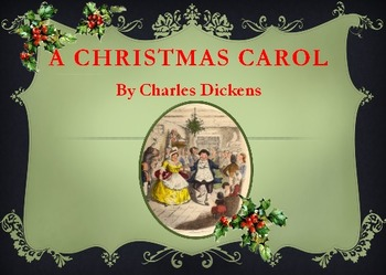A Chistmas Carol by Charles Dickens