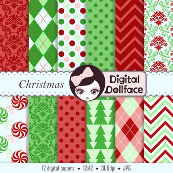 Chistmas Digital Paper