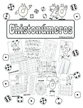 Chistonumeros 0 to 20 activities