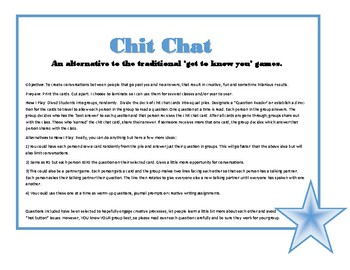 Chit Chat Cards