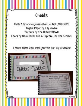 Chitter Chatter Journals