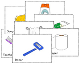 Chocobularies (Flash Cards) Toiletries