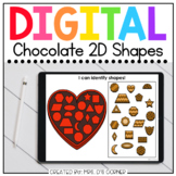 Chocolate 2D Shapes Digital Activity | Distance Learning