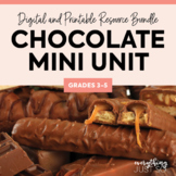 Chocolate Unit | Valentine's Day Activities | Distance Lea