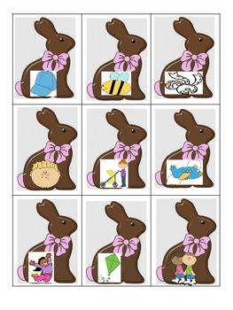 Chocolate Bunny likes to Read
