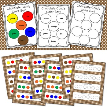 Chocolate Candy Activities and Centers