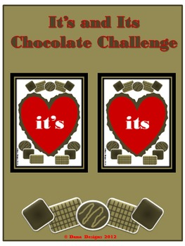 Chocolate Challenge - Using It's and Its