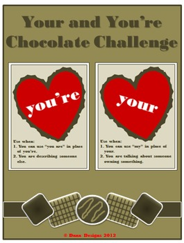 Chocolate Challenge - Using Your and You're