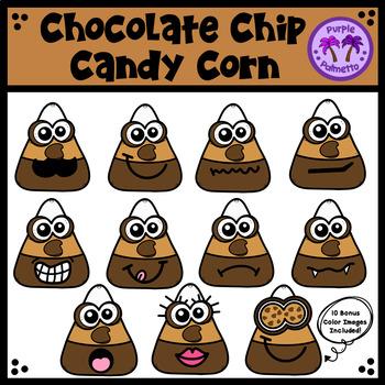 Chocolate Chip Candy Corn