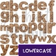 Alphabet Letters Clip Art - Chocolate Chip Cookie Letters {jen hart Clip Art)