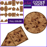 Chocolate Chip Cookie Clip Art -Cookie Shapes {jen hart Clip Art}