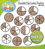 Cookie Fractions Clipart {Zip-A-Dee-Doo-Dah Designs}