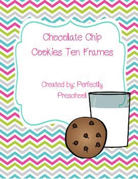 Chocolate Chip Cookie Ten Frames
