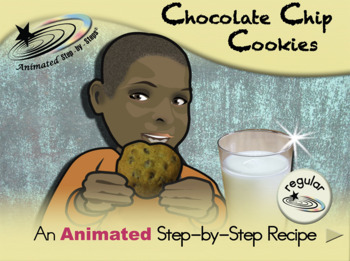 Chocolate Chip Cookies - Animated Step-by-Step Recipe