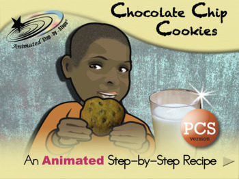 Chocolate Chip Cookies - Animated Step-by-Step Recipe PCS