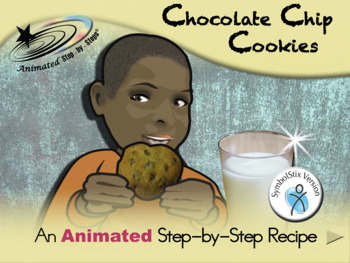 Chocolate Chip Cookies - Animated Step-by-Step Recipe SymbolStix