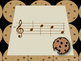 Chocolate Chip Cookies--Interactive Melody Reading Game {do}