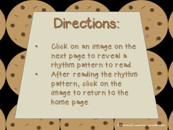 Chocolate Chip Cookies--Interactive Melody Reading Game {do re mi}