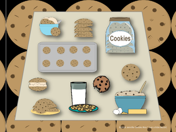 Chocolate Chip Cookies--Rhythm Reading Practice Interactive Game {syncopa}
