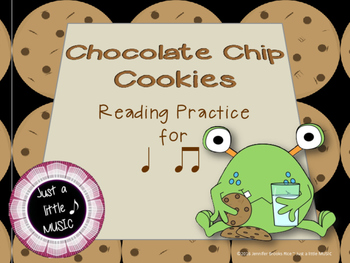 Chocolate Chip Cookies--Rhythm Reading Practice Interactive Game {ta titi}