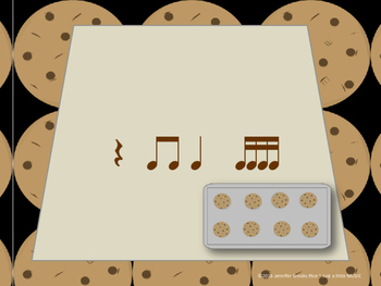 Chocolate Chip Cookies--Rhythm Reading Practice Interactive Game {tika tika}