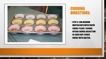 Chocolate Chip Molten Cookie Directions Power Point