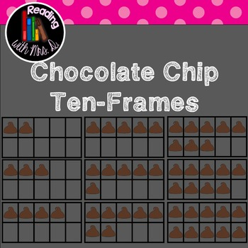 Chocolate Chip Ten-frame Clipart
